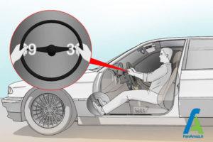 8 تنظیم صحیح صندلی ماشین
