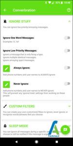 6 شخصی سازی پیام رسان