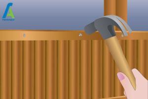 5 از بین بردن قارچ و کپک حصار چوبی