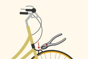8 تنظیم ترمز دوچرخه
