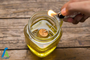 8 نحوه ساخت چراغ روغنی