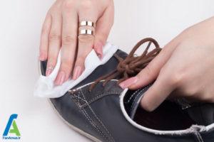 8 رفع لکه خراشیدگی روی کفش