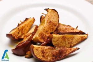 3 طرز تهیه سیب کبابی