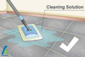 6 تمیز کردن بند رنگی کاشی و سرامیک