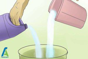 6 از بین بردن آثارجوهر داخل لباسشویی