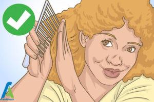 6 نگهداری و حالت دادن موی افرو
