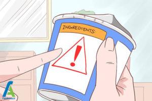 6 کاهش تورم آلرژی