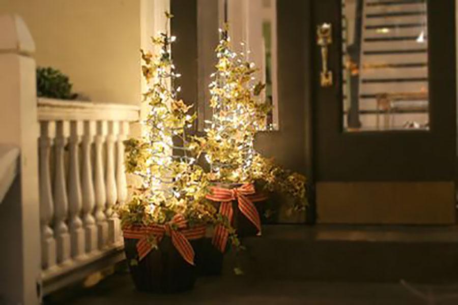 8 ساخت درخت کریسمس تزئینی