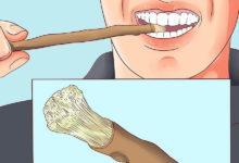 Photo of چگونه از چوب مسواک استفاده کنیم؟