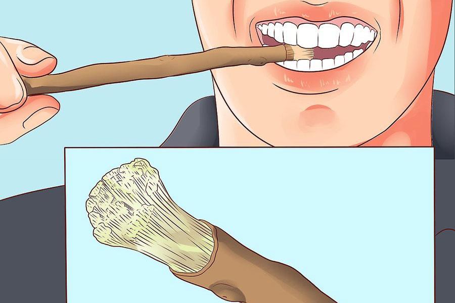 9 استفاده چوب مسواک