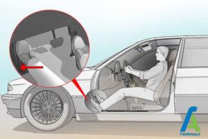 9 تنظیم صحیح صندلی ماشین