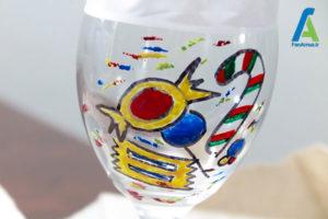 6 طراحی و تزئین جام شیشه ای