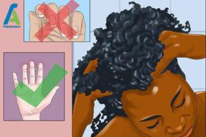 4 مراقبت از موهای ویو شده