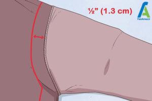 9 تغییر سایز پیراهن گشاد