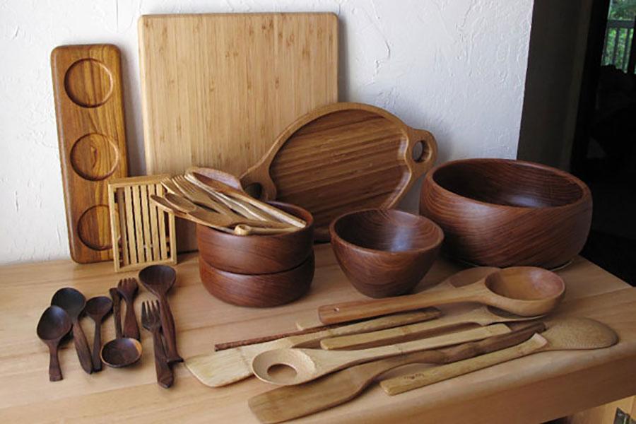 7 افزایش ماندگاری ظروف چوبی