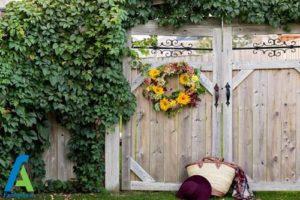 9 طراحی و تزئین ورودی منزل به سبک پاییزی