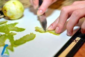 7 تهیه و استفاده از عصاره لیمو در غذا