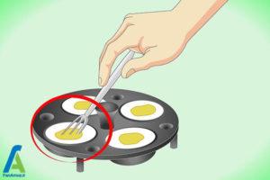 9 آب پز کردن تخم مرغ بدون پوست