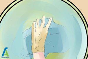 7 از بین بردن آثارجوهر داخل لباسشویی