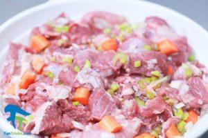1 روش پخت گوشت بز