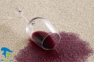 1 پاک کردن لکه شراب از انواع سطوح