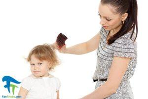 1 درمان خانگی موهای سفید کودک