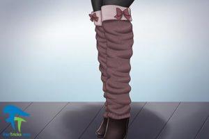11 آموزش دوخت گرمکن ساق پای زنانه