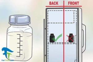 2 تشخیص سالم یا فاسد بودن شیر مادر