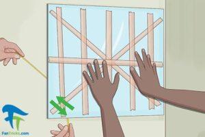 2 روش های جدا کردن آینه دکوراتیو از دیوار