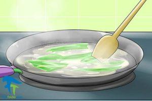 3 خوراک سبزیجات با گیاه کاسنی
