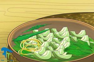 4 خوراک سبزیجات با گیاه کاسنی