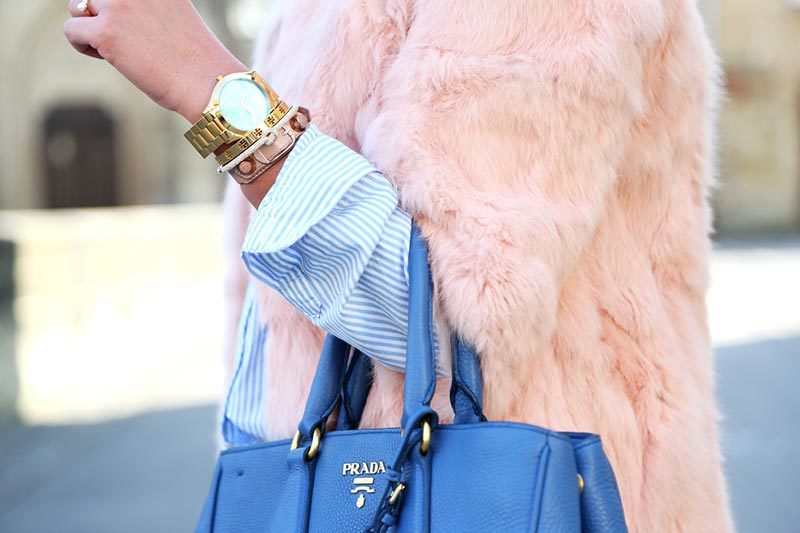 4 طرز رنگ کردن لباس خز فاکس Faux