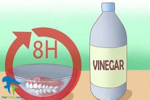 5 جلوگیری از ایجاد لکه روی دندان مصنوعی