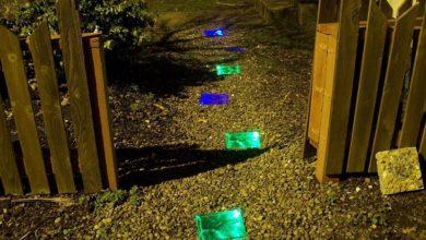 Photo of چگونه سنگ فرش های ورودی باغ، حیاط و ویلا را شبرنگ کنیم؟