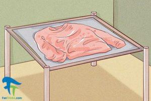6 طرز رنگ کردن لباس بافت پشم کشمیر