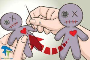 7 آموزش ساخت عروسک جادو یا وودو