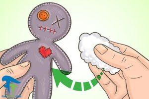 9 آموزش ساخت عروسک جادو یا وودو