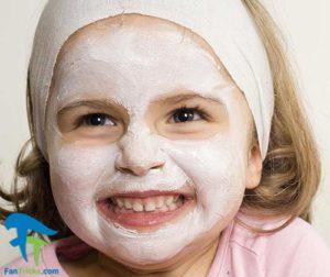 1 روش ساخت ماسک پوست صورت کودکان