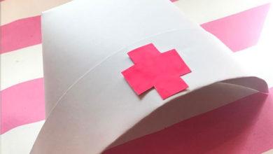 Photo of چگونگی دوخت یا ساخت کلاه پرستاری برای بازی های کودکانه