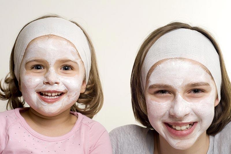 2 روش ساخت ماسک پوست صورت کودکان