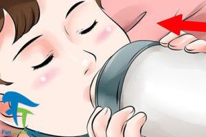 3 کاهش هوای موجود در شیشه شیر
