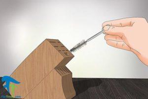 4 طرز تمیز کردن استند چاقو