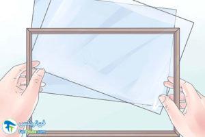 1 آموزش قاب کردن تابلو نقاشی