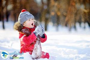 1 علائم سرمازدگی در کودک