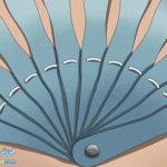 10 طرز ساخت بادبزن با پر