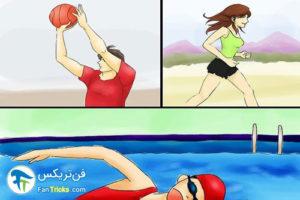 2 جلوگیری از تجمع یا احتباس آب در بدن