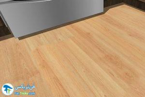 2 انتخاب رنگ مناسب کفپوش آشپزخانه