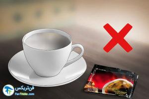 3 نحوه کاهش طعم تلخ قهوه