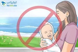 5 پیشگیری از دهیدراته شدن بدن نوزاد
