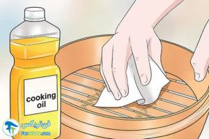 5 اصول شستن و تمیز کردن بخارپز بامبو